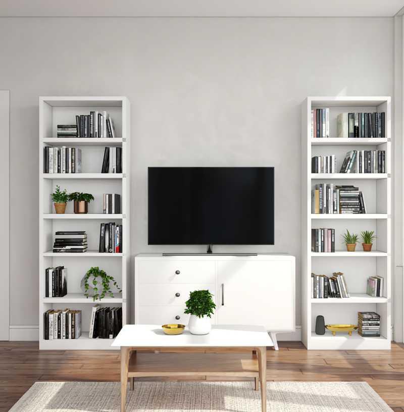 Minimal, Scandinavian Living Room Design by Havenly Interior Designer Isabella