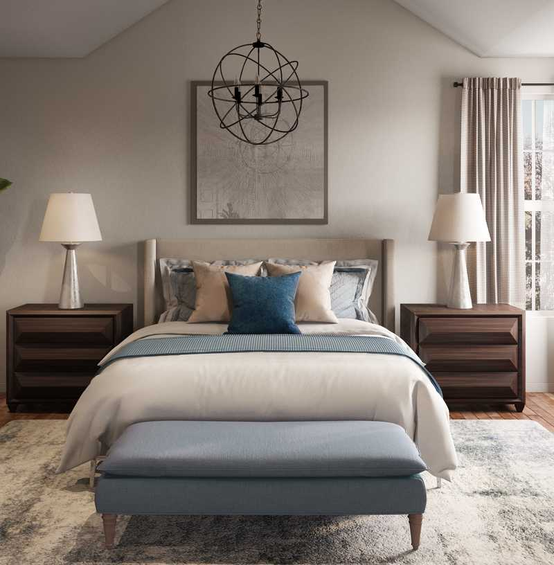 Classic Bedroom Design by Havenly Interior Designer Meredith