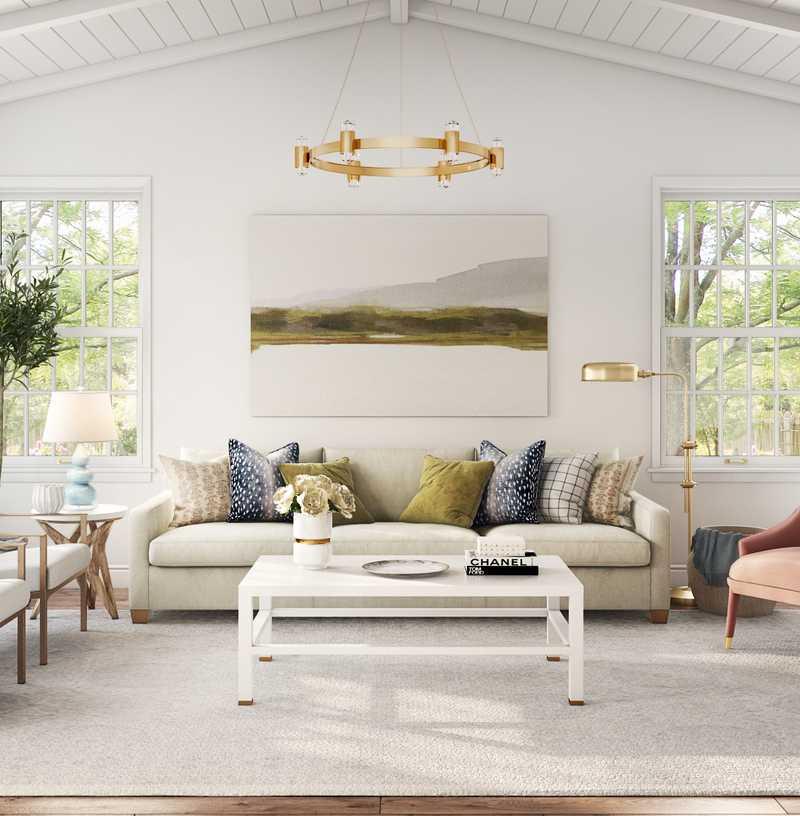 Contemporary, Classic, Glam  Design by Havenly Interior Designer