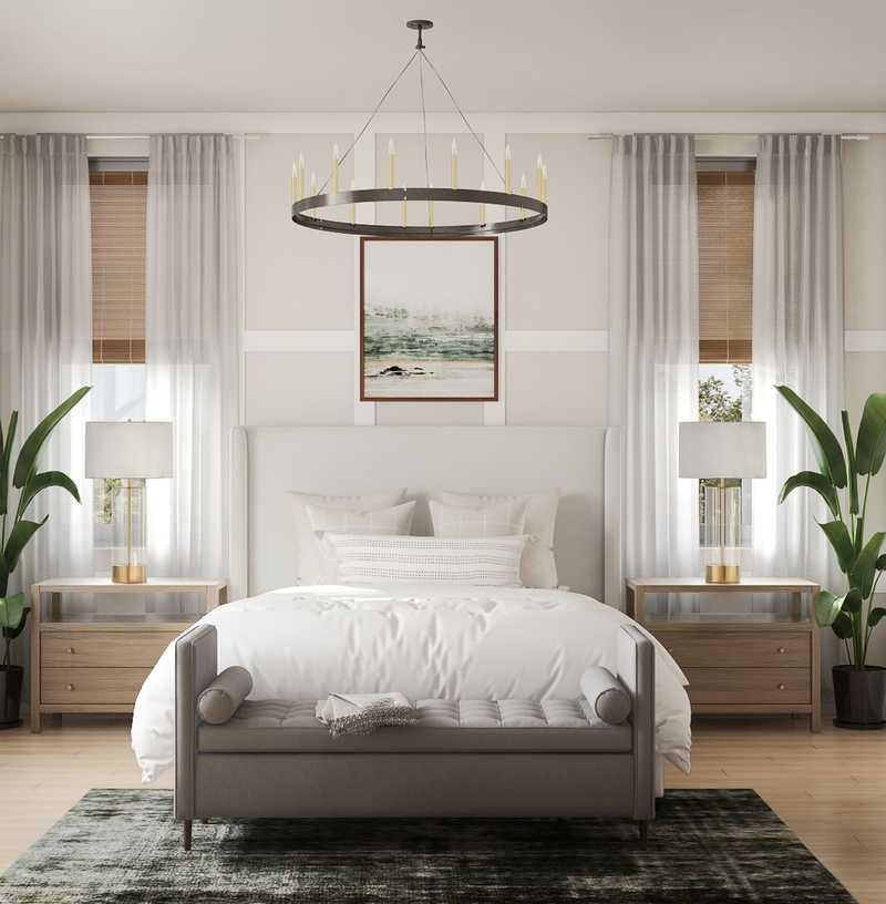 Industrial, Rustic Bedroom Design by Havenly Interior Designer Jessica