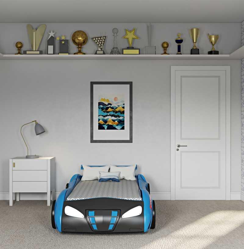Contemporary, Modern Nursery Design by Havenly Interior Designer Isaac