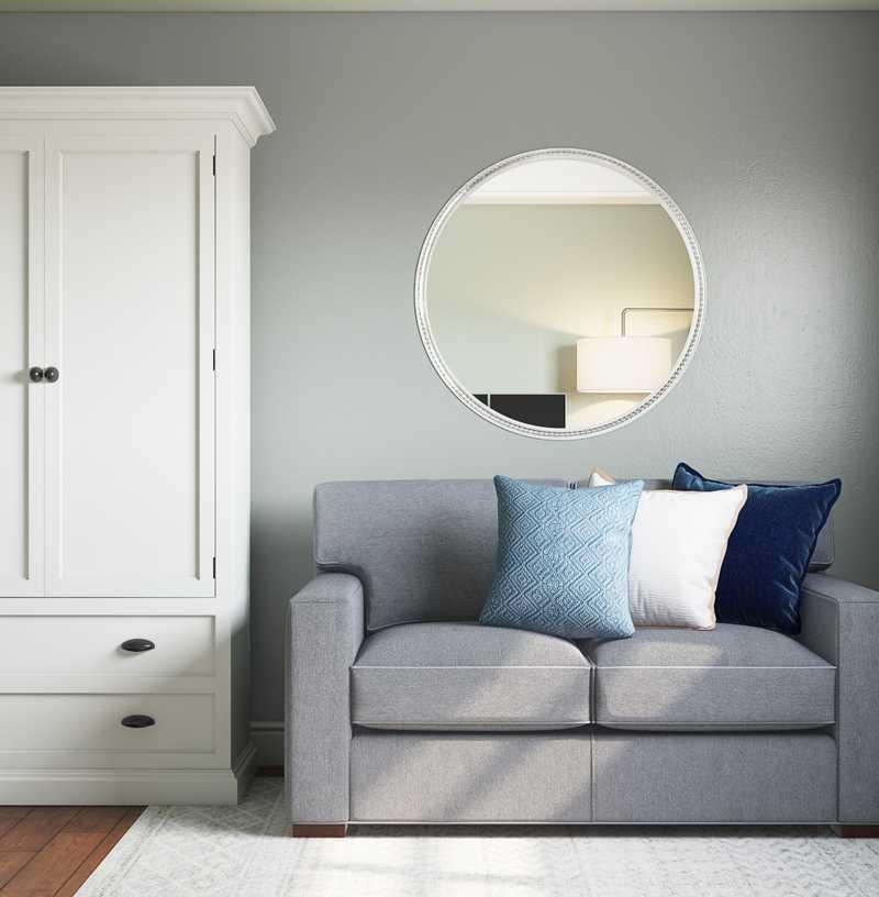 Coastal Office Design by Havenly Interior Designer Camille