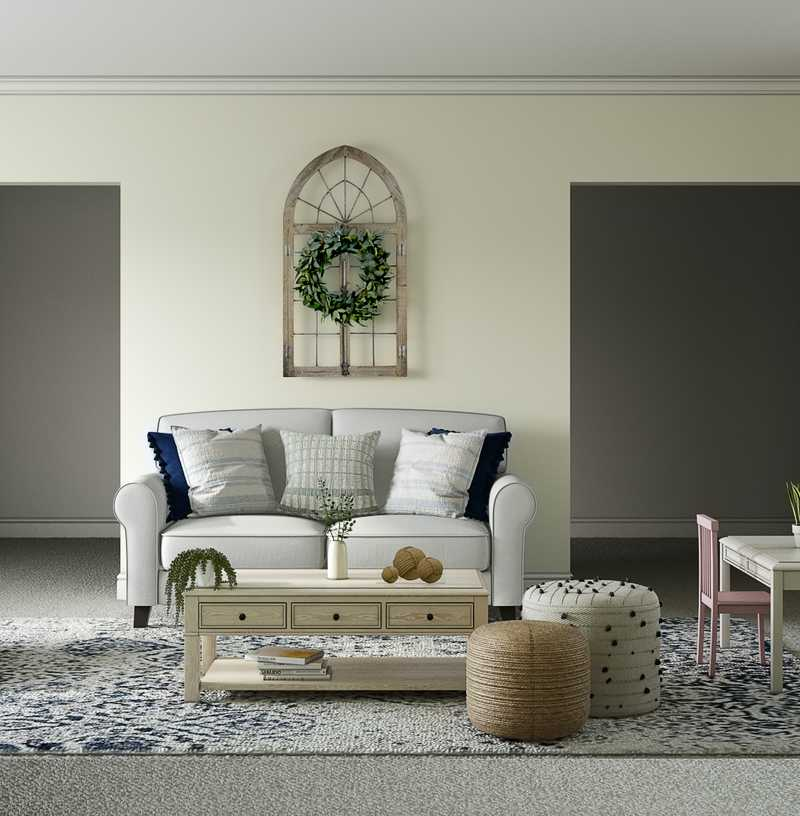 Living Room Design by Havenly Interior Designer Crystal