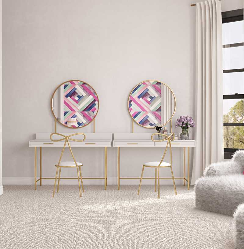 Modern, Eclectic Bedroom Design by Havenly Interior Designer Karen