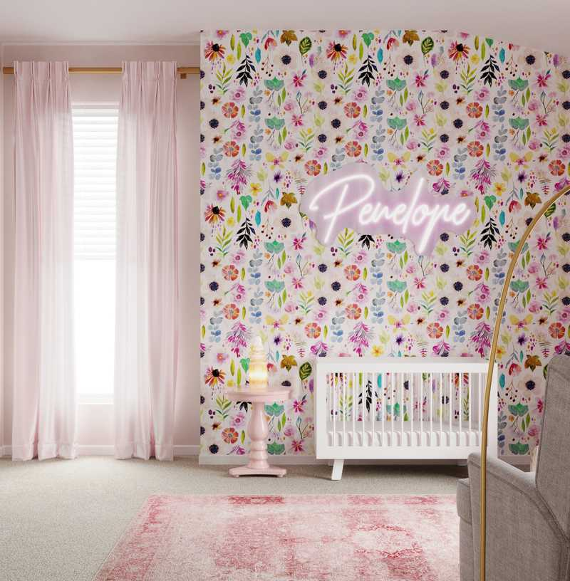 Glam Nursery Design by Havenly Interior Designer Dani