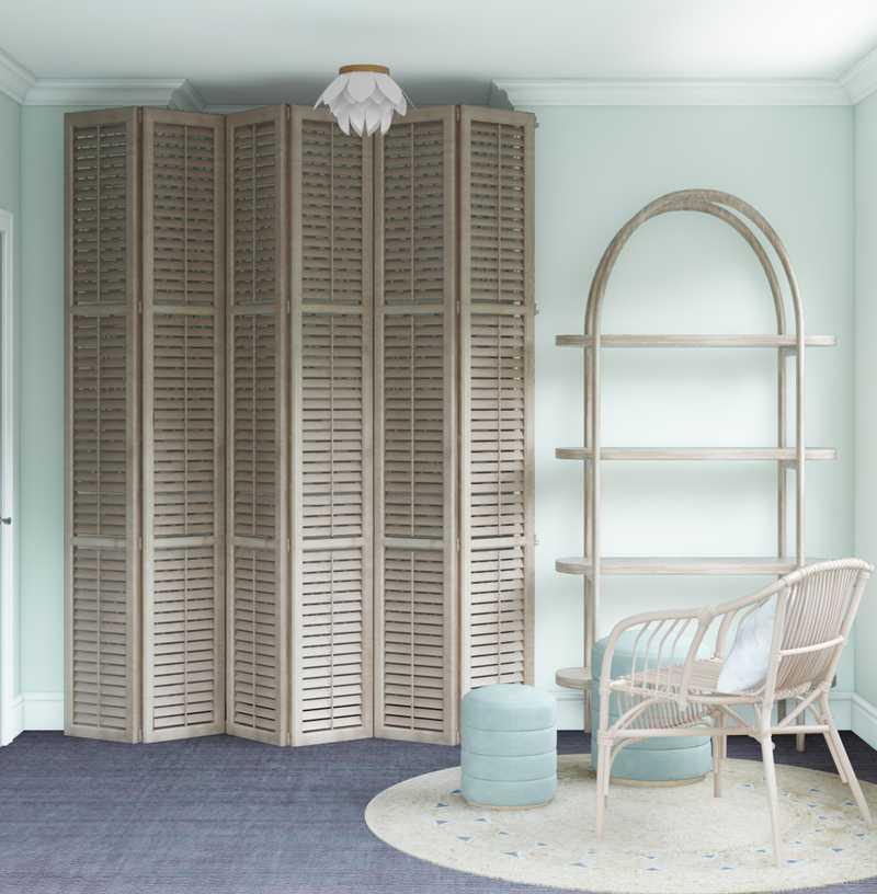 Bohemian, Glam Office Design by Havenly Interior Designer Carola