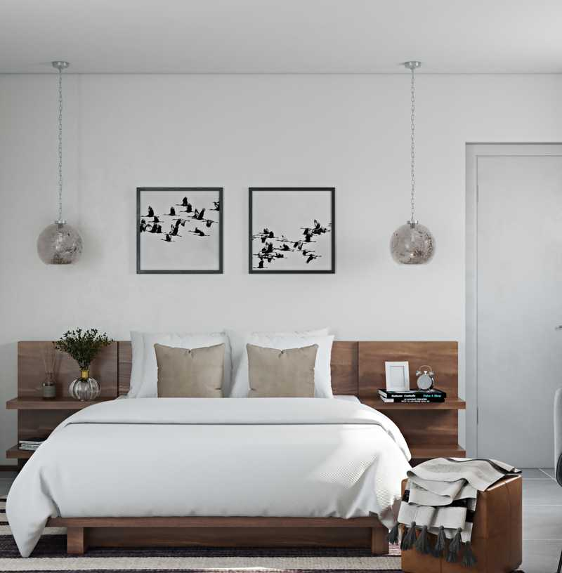 Contemporary Bedroom Design by Havenly Interior Designer Jess