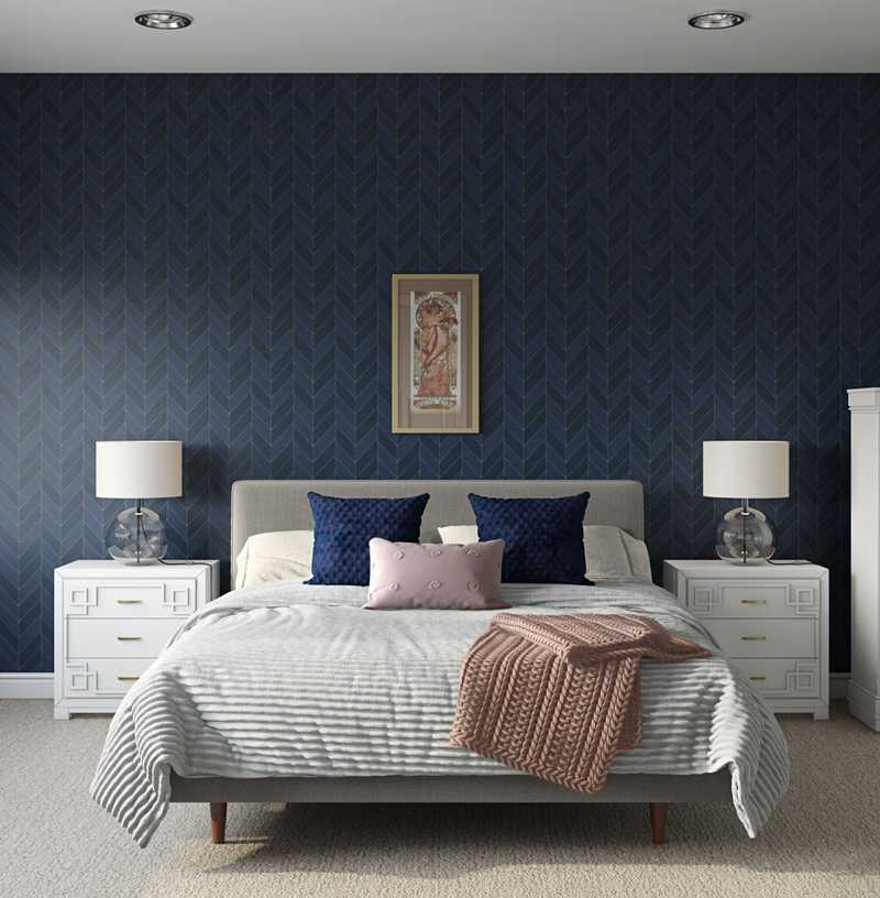 Modern, Transitional Bedroom Design by Havenly Interior Designer Catherine