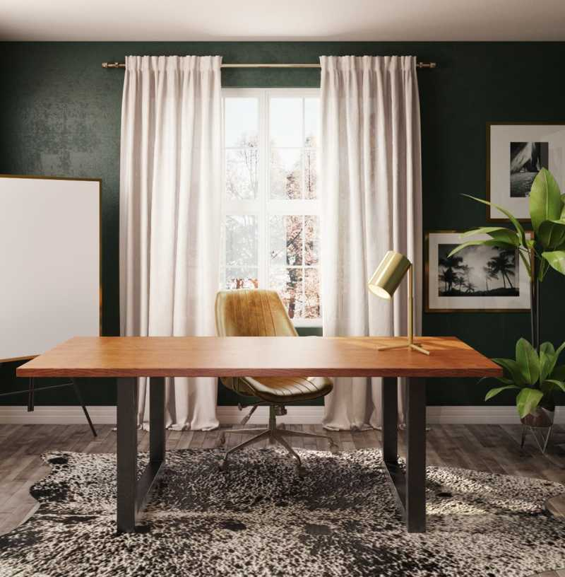 Office Design by Havenly Interior Designer Michelle