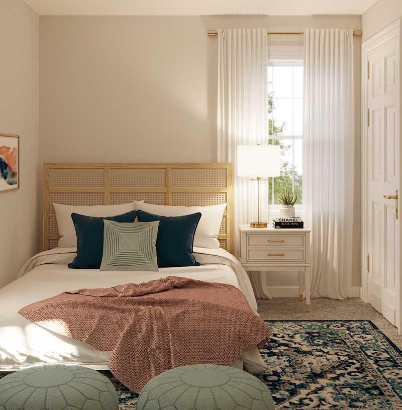Modern, Coastal Bedroom Design by Havenly Interior Designer Emily