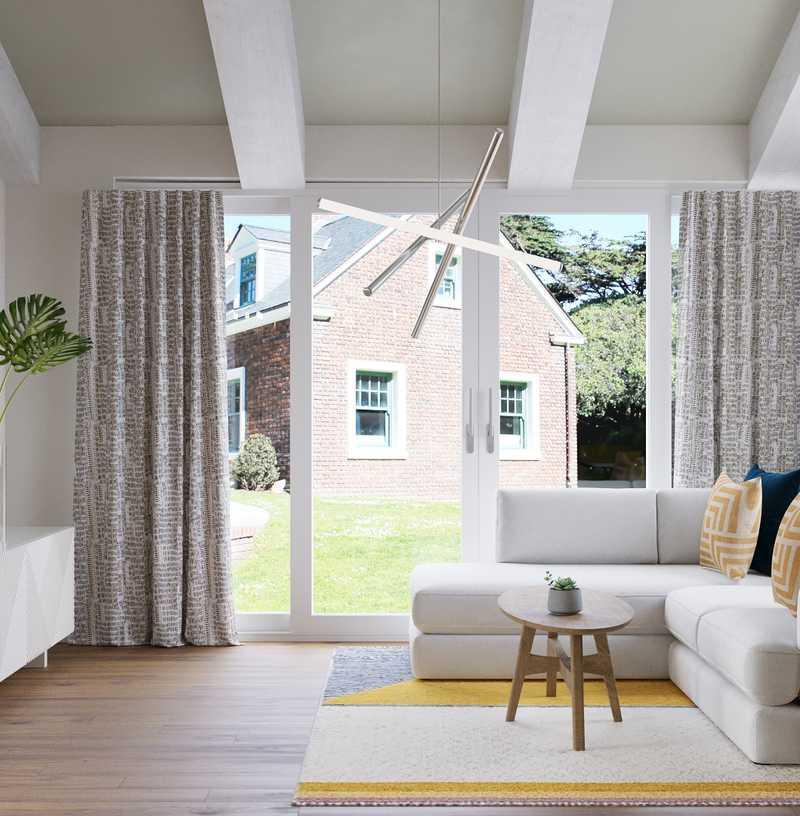 Contemporary, Modern, Minimal Dining Room Design by Havenly Interior Designer Emma