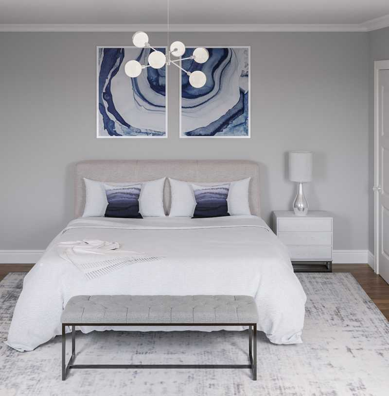 Contemporary, Modern Bedroom Design by Havenly Interior Designer Laura