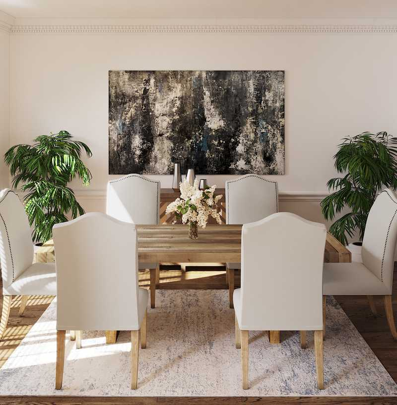 Classic, Traditional Dining Room Design by Havenly Interior Designer Danielle
