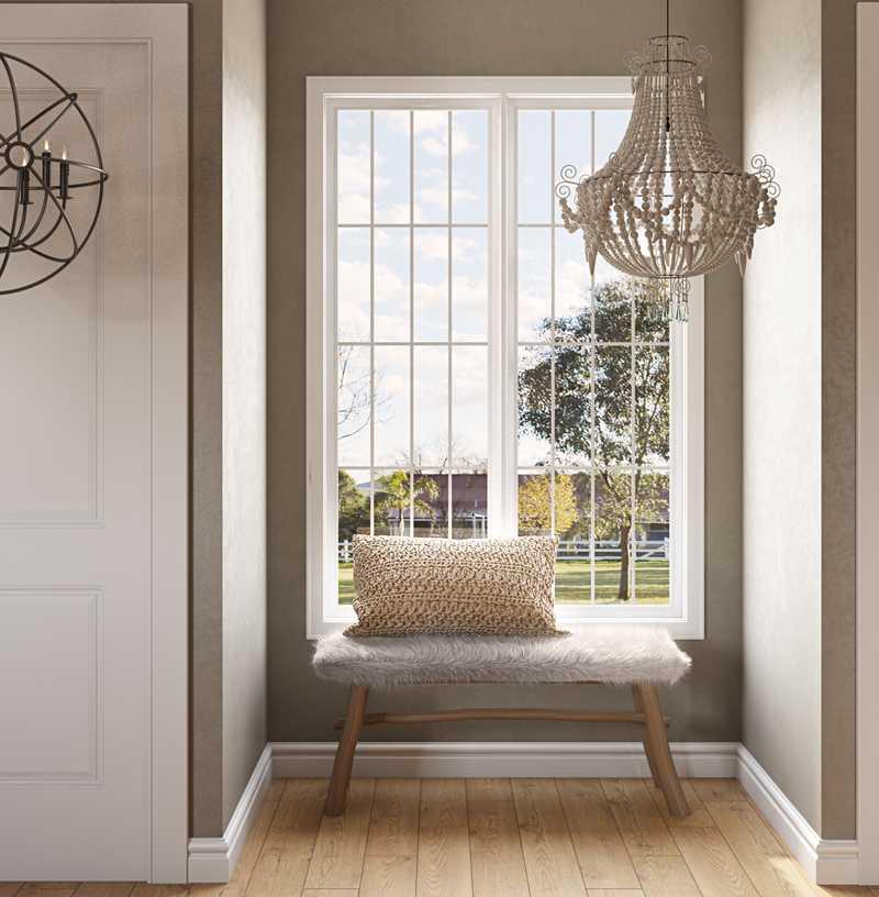 Modern, Coastal, Farmhouse Bedroom Design by Havenly Interior Designer Erica