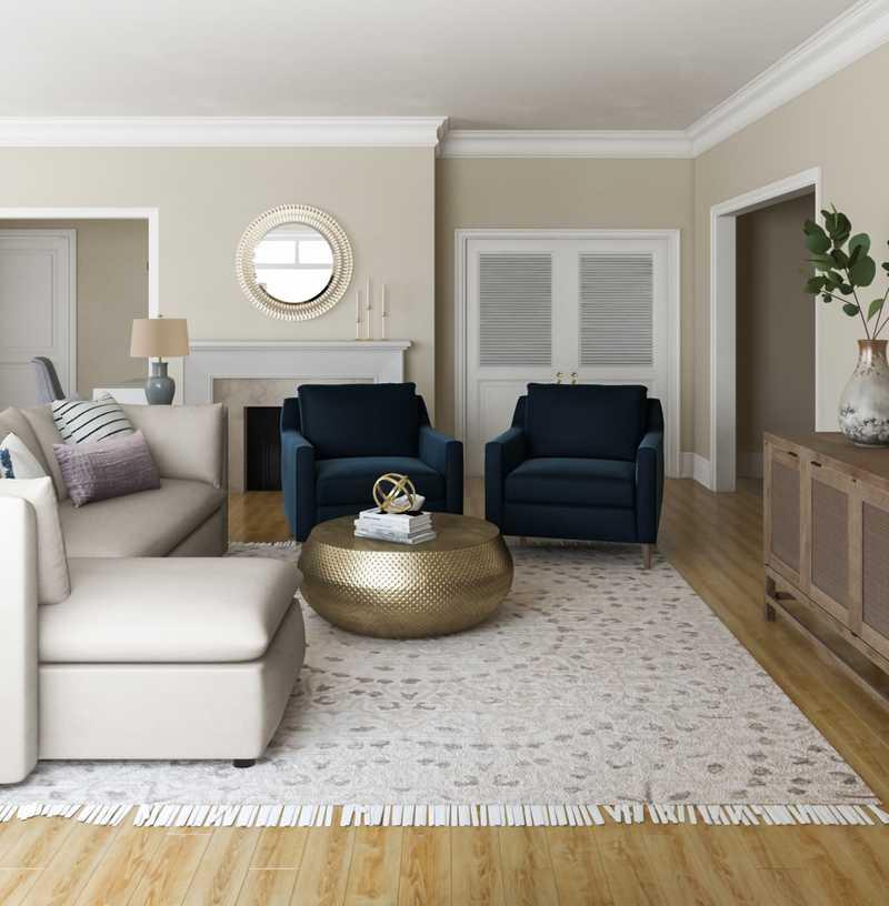 Living Room Design by Havenly Interior Designer Kate