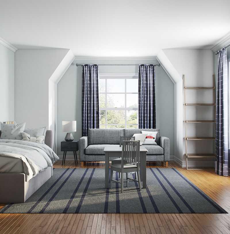 Transitional Bedroom Design by Havenly Interior Designer Julie