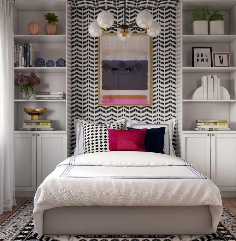 Contemporary, Industrial Office Design by Havenly Interior Designer Fendy