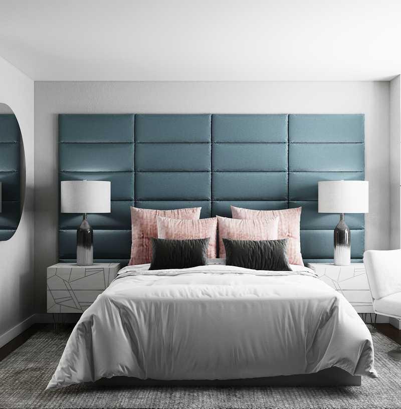 Eclectic Bedroom Design by Havenly Interior Designer Julio