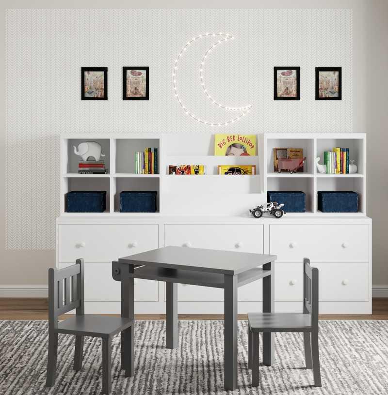 Eclectic, Farmhouse, Transitional Bedroom Design by Havenly Interior Designer Julieta
