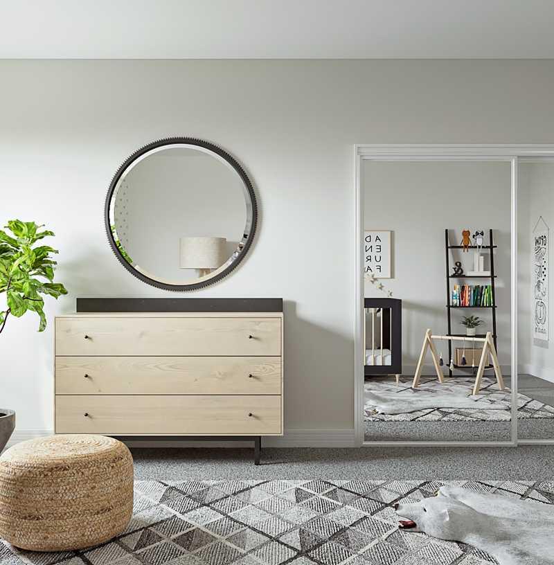 Modern, Scandinavian Nursery Design by Havenly Interior Designer Kyla