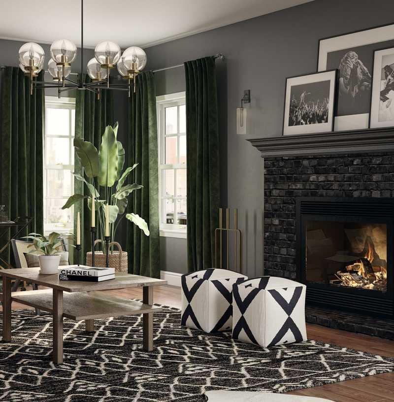 Living Room Design by Havenly Interior Designer Matthew