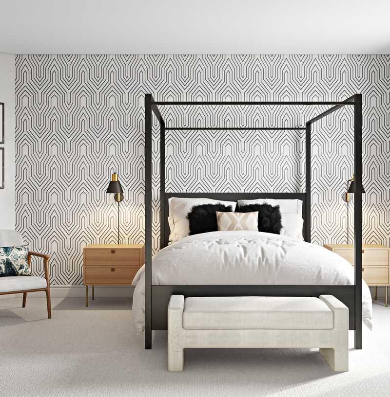 Modern, Coastal Bedroom Design by Havenly Interior Designer Monica