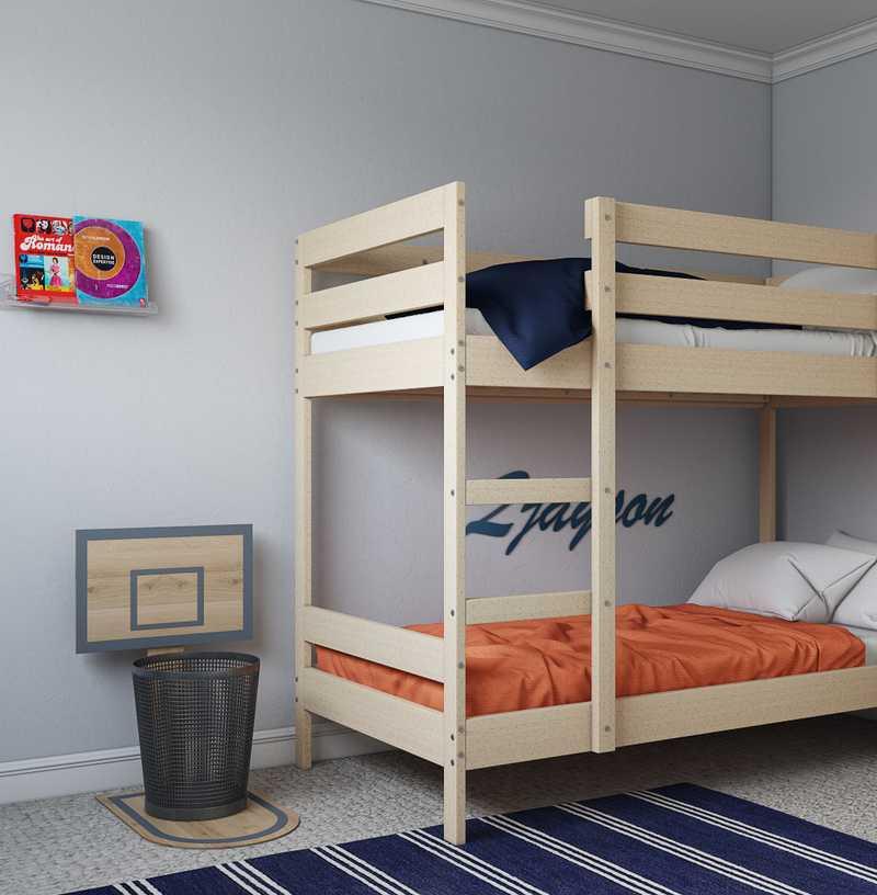 Preppy Bedroom Design by Havenly Interior Designer Marty
