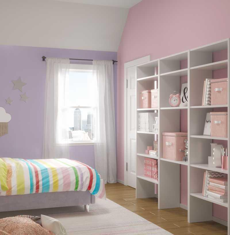 Modern, Traditional, Preppy Bedroom Design by Havenly Interior Designer Carla