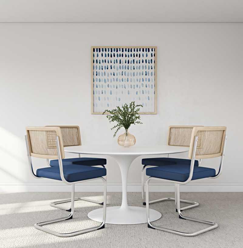 Modern, Midcentury Modern, Scandinavian Dining Room Design by Havenly Interior Designer Isaac