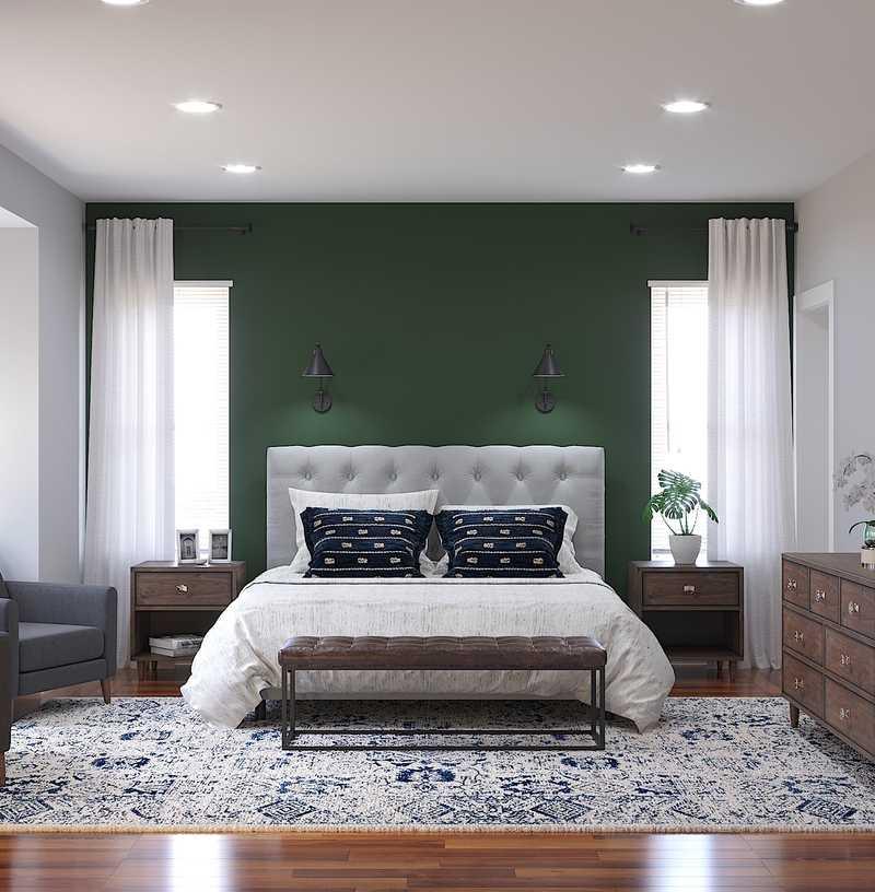 Modern, Rustic Bedroom Design by Havenly Interior Designer Sara