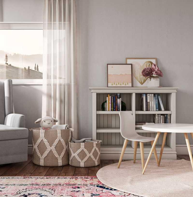 Modern, Bohemian Bedroom Design by Havenly Interior Designer Ashlyn