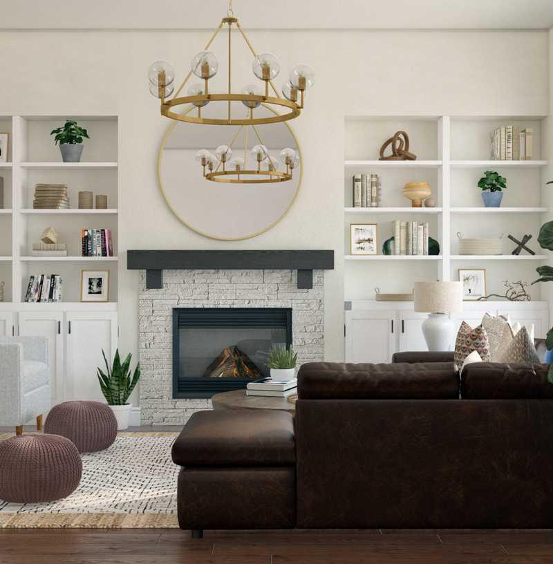 Living Room Design by Havenly Interior Designer Kelly