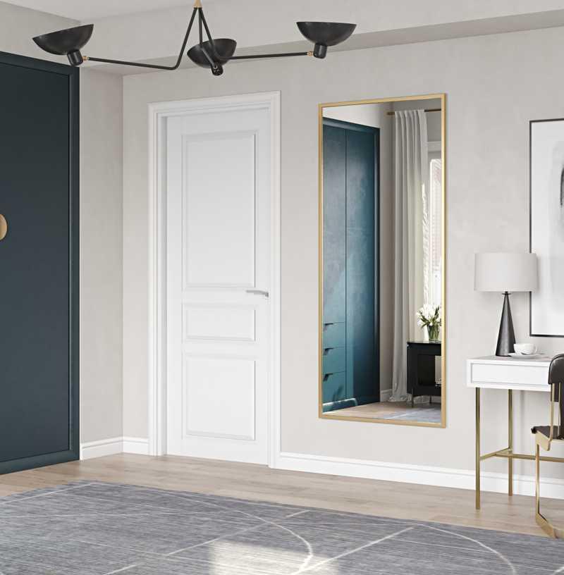 Modern, Minimal Bedroom Design by Havenly Interior Designer Kelsey