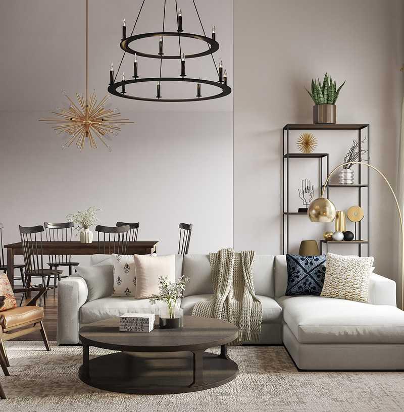 Living Room Design by Havenly Interior Designer Michelle