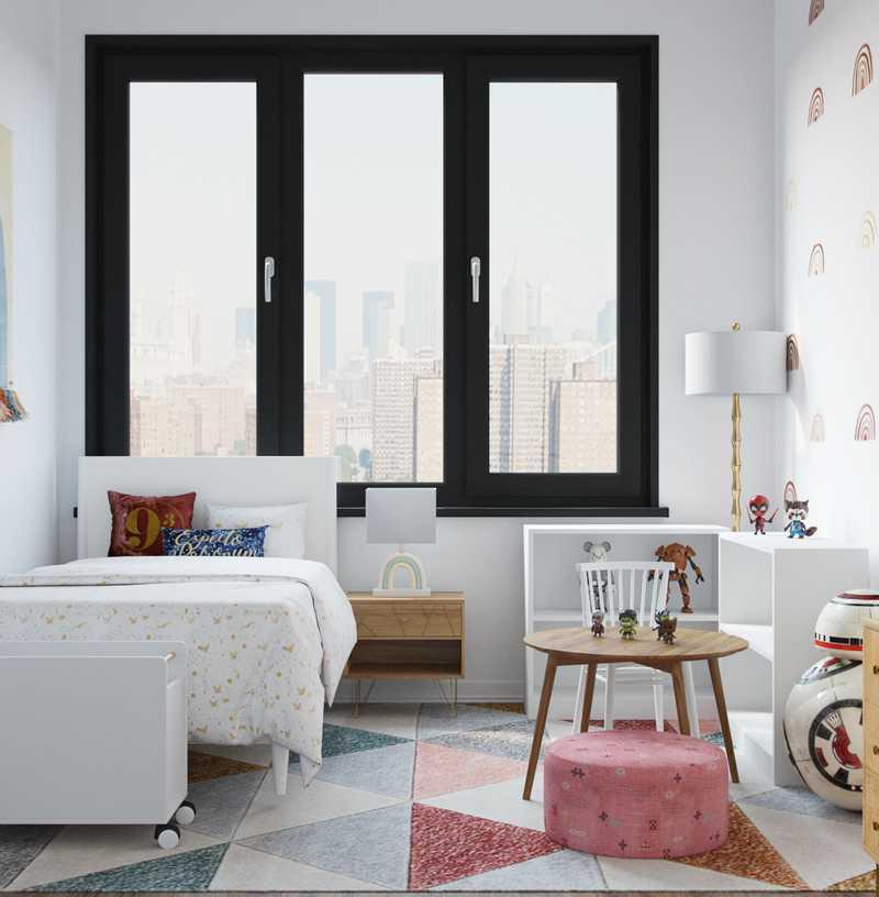 Modern, Bohemian Bedroom Design by Havenly Interior Designer Abi
