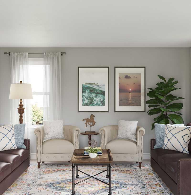 Living Room Design by Havenly Interior Designer Emily