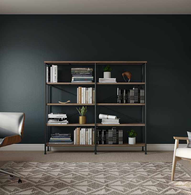 Global, Scandinavian Office Design by Havenly Interior Designer Sara