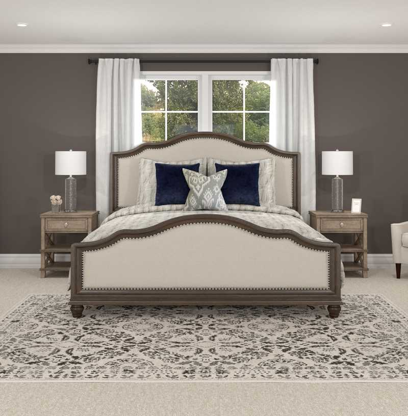 Classic, Traditional Bedroom Design by Havenly Interior Designer Elizabeth