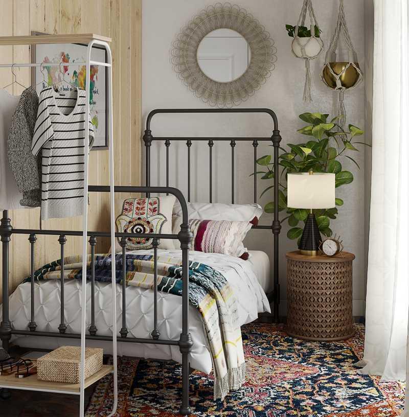Eclectic, Global Bedroom Design by Havenly Interior Designer Cathrine