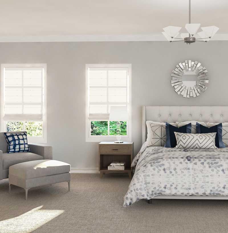 Transitional Bedroom Design by Havenly Interior Designer Rachel