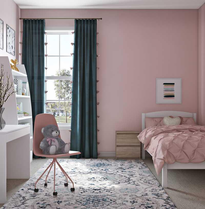 Modern, Glam Bedroom Design by Havenly Interior Designer Alicia