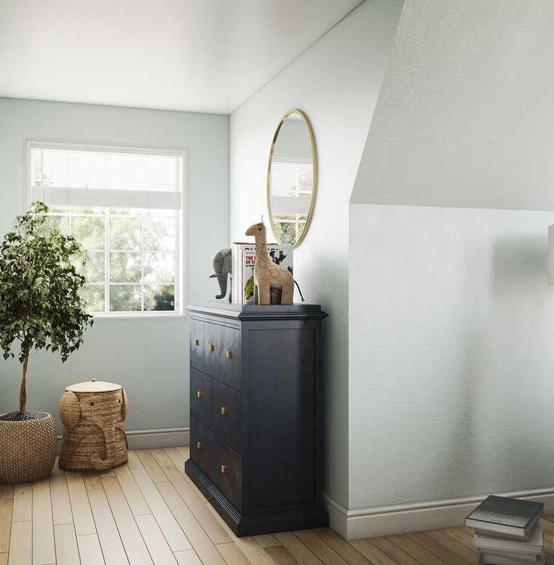 Eclectic, Bohemian, Scandinavian Nursery Design by Havenly Interior Designer Regina