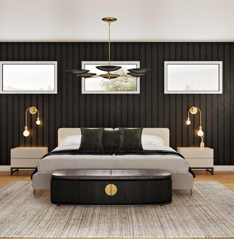 Modern, Minimal Bedroom Design by Havenly Interior Designer Sawyer