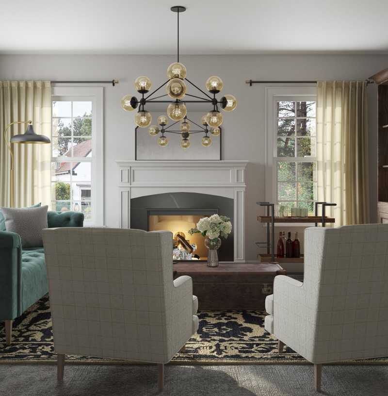 Classic, Library Other Design by Havenly Interior Designer Lindsay