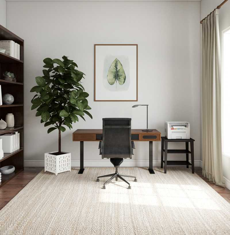 Office Design by Havenly Interior Designer Kristine
