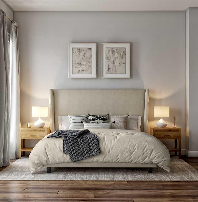 Scandinavian Bedroom Design by Havenly Interior Designer Ellis
