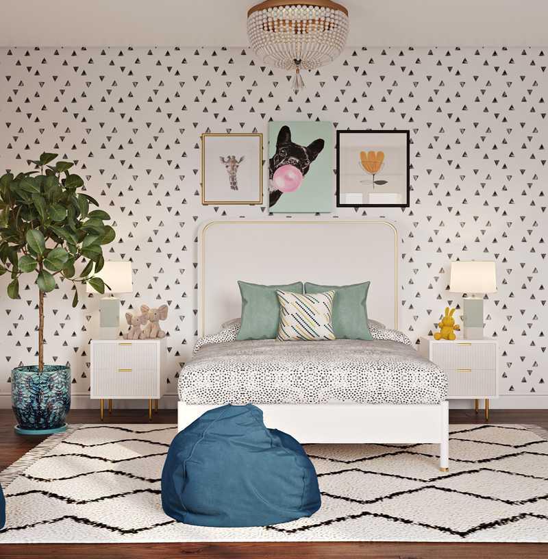 Contemporary, Modern Nursery Design by Havenly Interior Designer Katherine