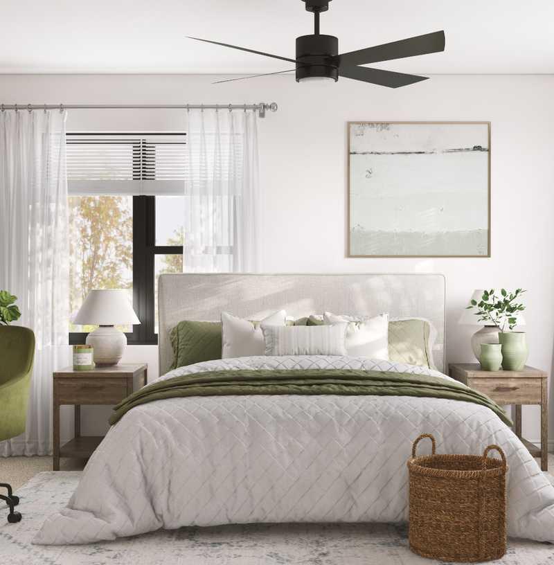 Modern, Coastal Bedroom Design by Havenly Interior Designer Namita