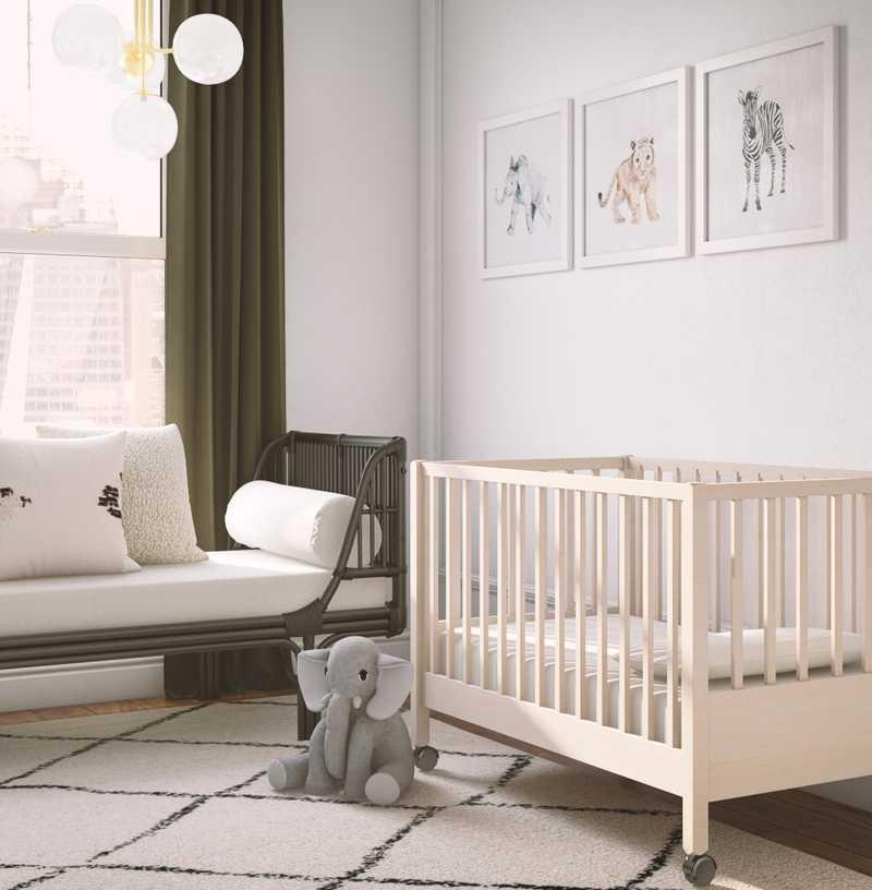 Modern, Scandinavian Nursery Design by Havenly Interior Designer Jacqueline