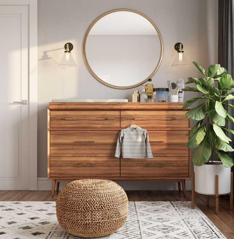 Classic, Midcentury Modern Nursery Design by Havenly Interior Designer Claire